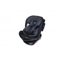 Автокресло HB-636 Isofix DARK GREY PLUS (эко-кожа)