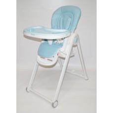 Стол-стул С-A Эко-кожа (голубой)