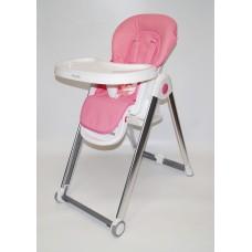 Стол-стул С-A Эко-кожа (розовый)