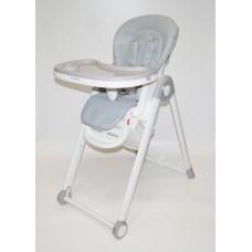 Стол-стул С-A Эко-кожа (серый)