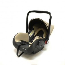 Baby Car Seat Hb801 (Группа 0+ От 0-13 Кг.) (Beige + Black Dot)
