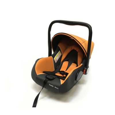Baby Car Seat Hb801 (Группа 0+ От 0-13 Кг.) (Orange + Black Dot)