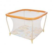 Манеж Детский Квадрат 1103  (Globex) (Оранжевый)