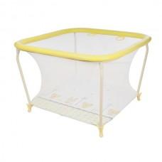 Манеж детский Квадрат 1103  (Globex) Желтый