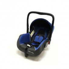 Baby Car Seat Hb801 (Группа 0+ От 0-13 Кг.) (Blue + Black Dot)