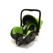 Baby Car Seat Hb801 (Группа 0+ От 0-13 Кг.) (Green + Black Dot)
