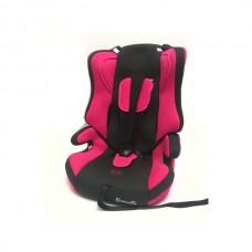 Автокресло Lb 513 R (Teddy Bear) П/З (18. Pink+Black Dot)