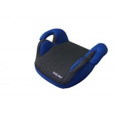 Автокресло (бустер) LB 311 (Teddy Bear) ПК 10. DEEP BLUE+BLACK DOT