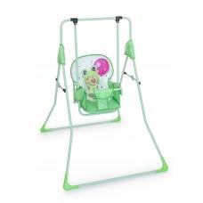 Качель детская напольная Мишка с шариком (зеленый)