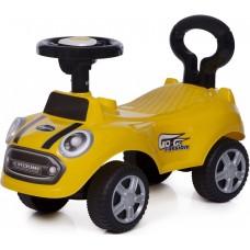 Машинка для катания 616 А (жёлтая)