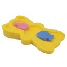 Губка для купания МАКСИ_жёлтая