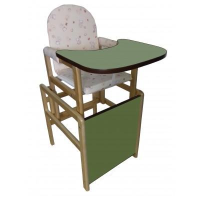 """Стол-стул """"Карапуз"""" Зелёный"""