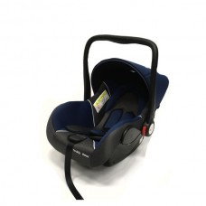Baby Car Seat Hb801 (Группа 0+ От 0-13 Кг.) (Deep Blue + Black Dot)