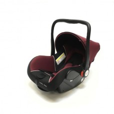Baby Car Seat Hb801 (Группа 0+ От 0-13 Кг.) (Deep Red + Black)